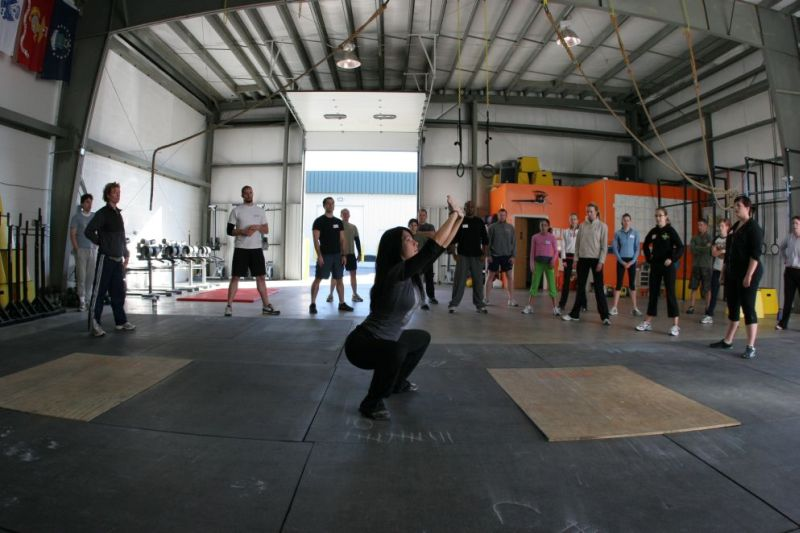 Thomi squat crossfit